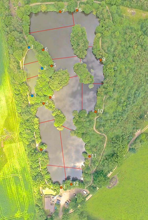 Menard Lake Map
